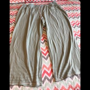 Lane Bryant plus size pajama pants